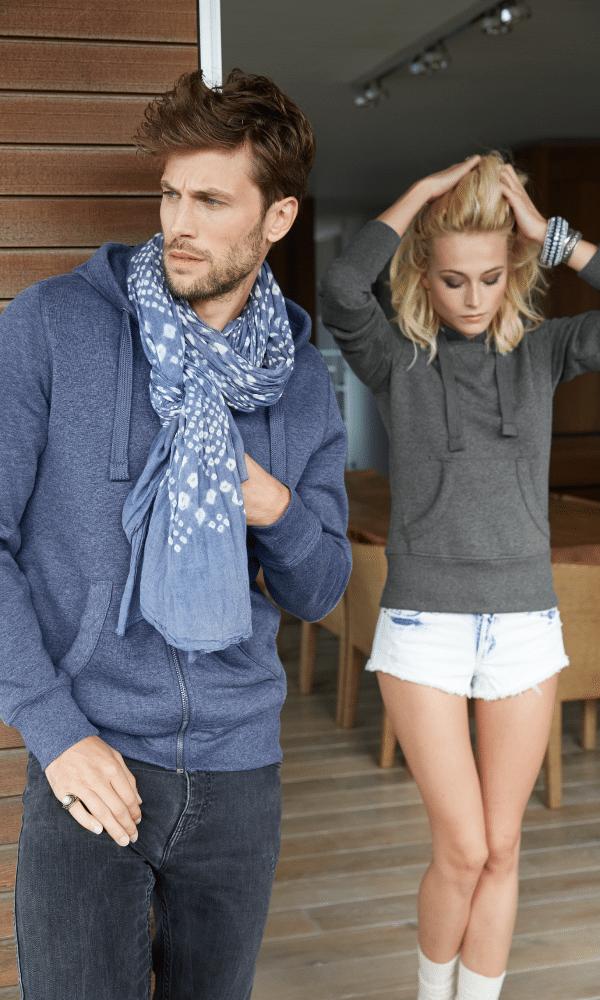 Sweat homme et femme différents modèles et coloris