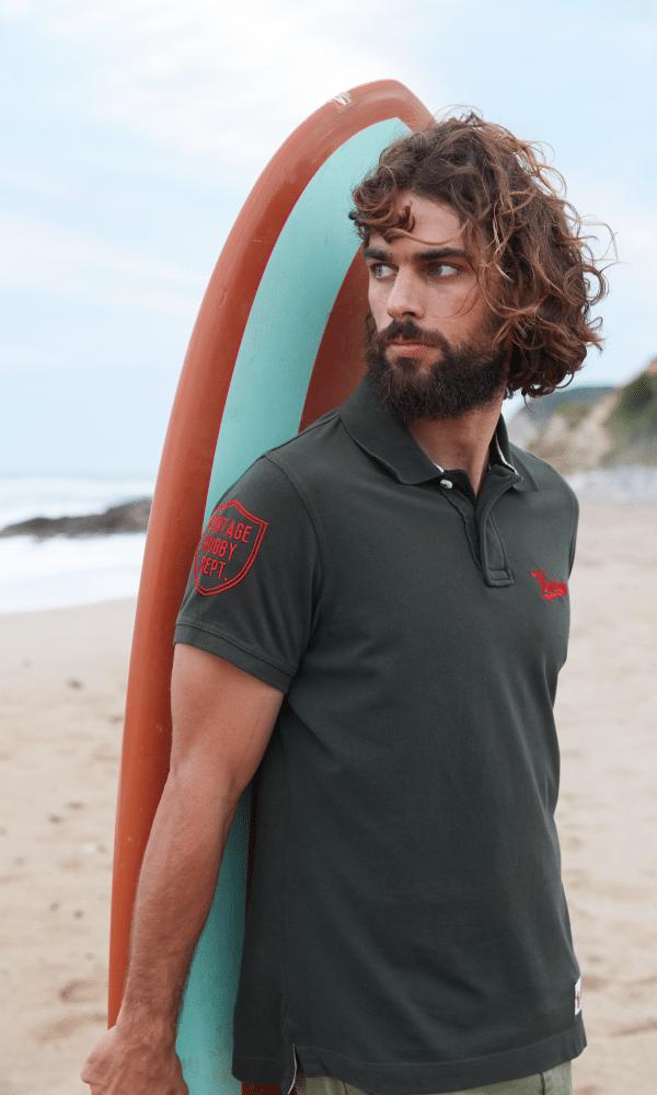 textile polo homme différents coloris et modèles
