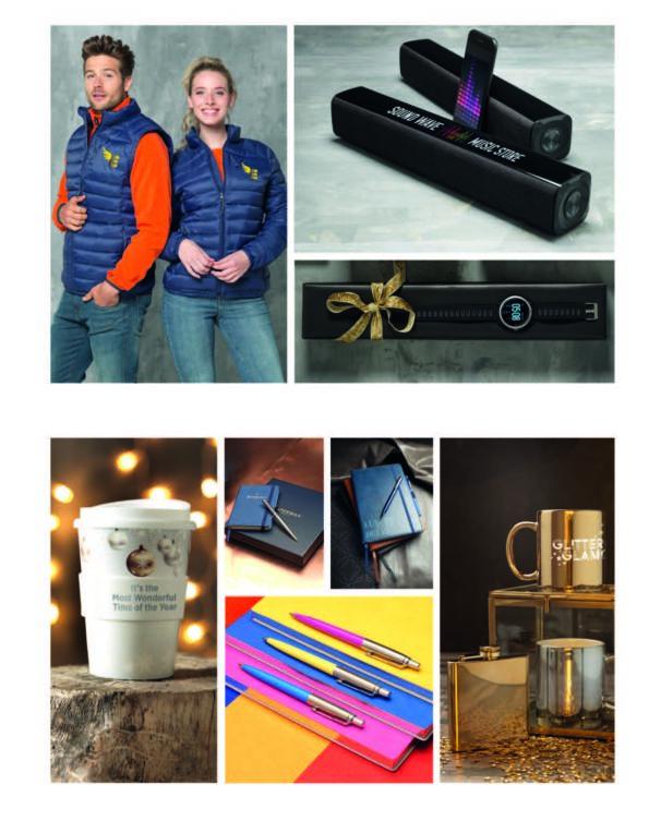 Page cadeaux de fin d'année