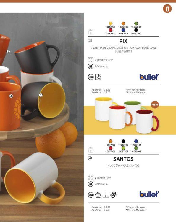 Page mug et tasses