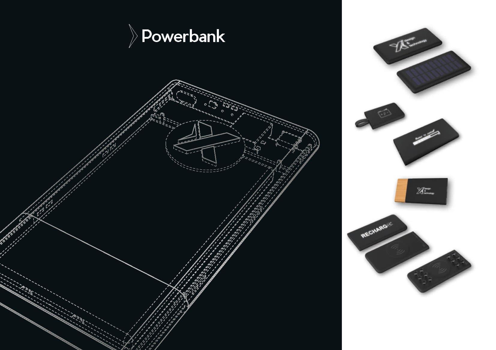 catalogue design et technologie power bank